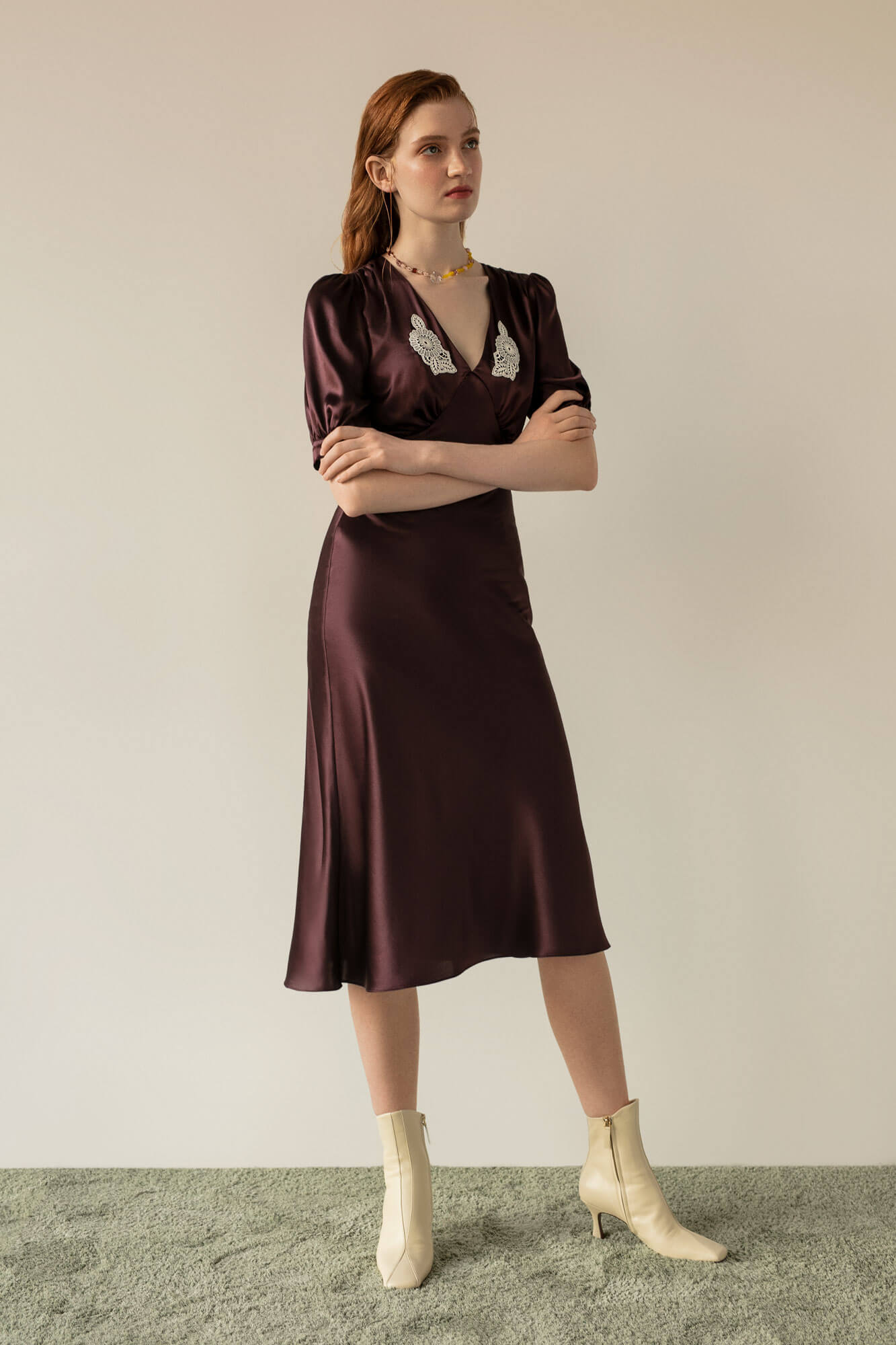 Cecelia Silk Dress image 2