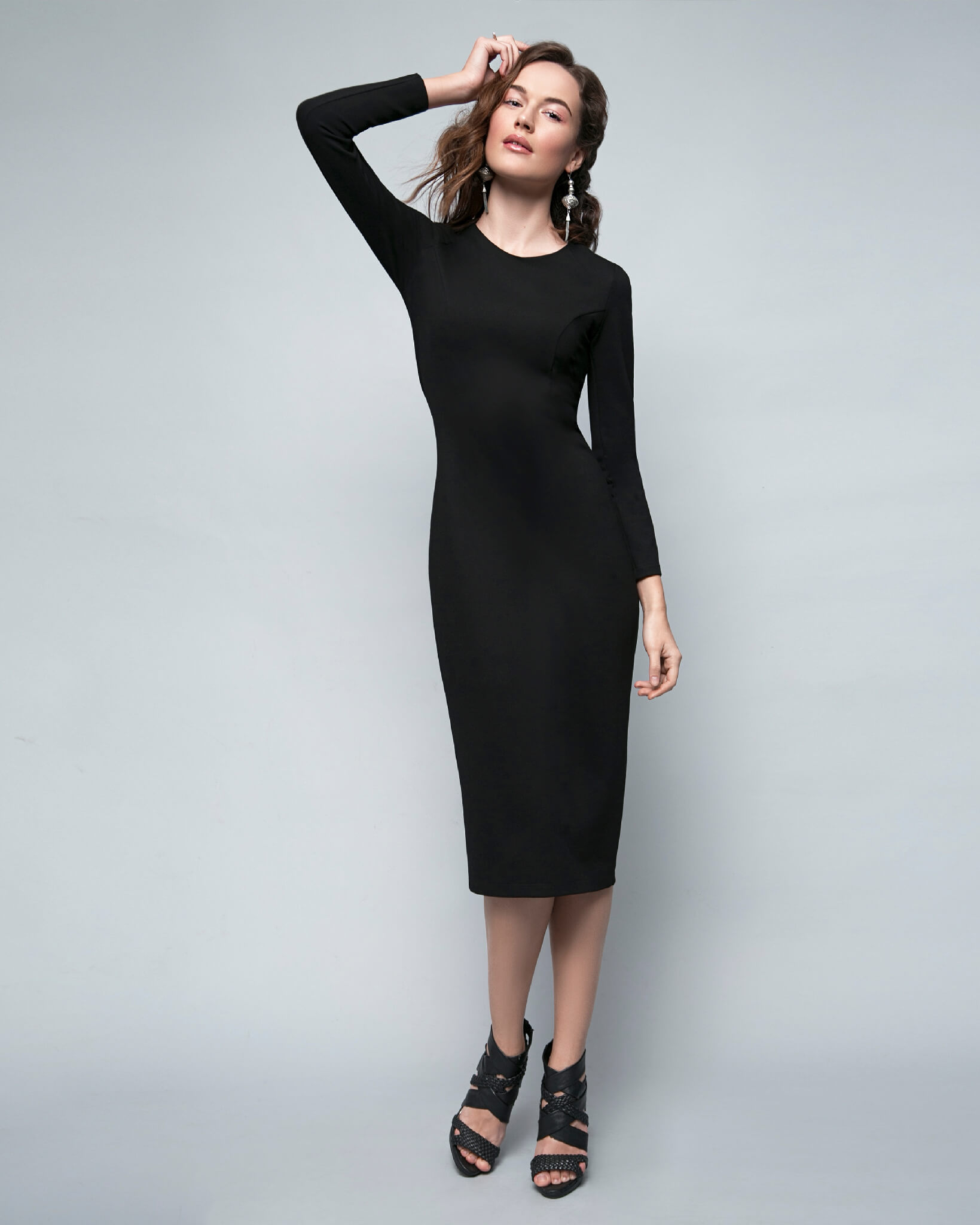 Never Let Me Go Midi Dress image featured