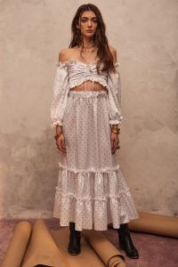 Feeling #5 Maxi Skirt. Discovery image featured